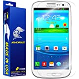 ArmorSuit MilitaryShield Samsung Galaxy S3 Screen Protector Shield for AT&T, Verizon, T-Mobile, Sprint, U.S. Cellular
