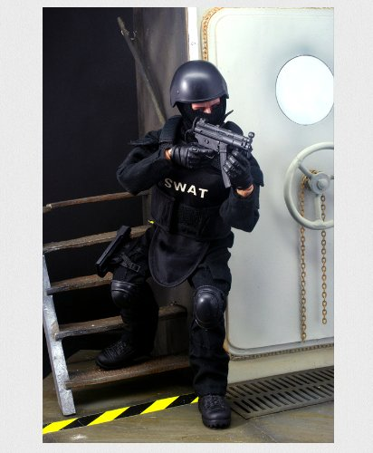 Gi Joe 12' Accessories - Super System 12'' Special Forces Action Figure - SWAT