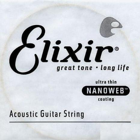 Amazon.com: CUERDAS GUITARRA ACUSTICA - Elixir (023B) Nanoweb Entorchada (4 Unidades): Musical Instruments