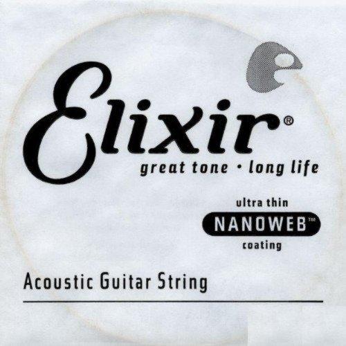 Amazon.com: CUERDAS GUITARRA ACUSTICA - Elixir (023B) Nanoweb ...
