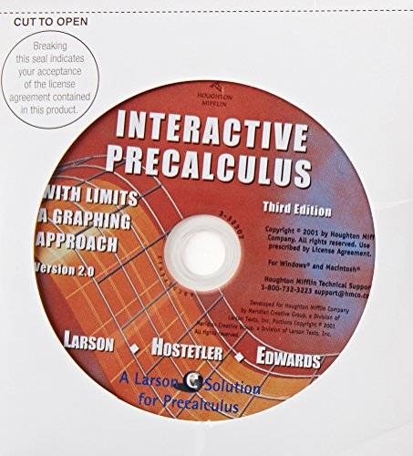 Precalculus With Limits A Graphing Approach 3rd Edition Pdf