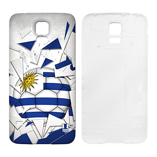 Head Case Designs Uruguay Football Breaker Replacement Battery Back Cover for Samsung Galaxy S5