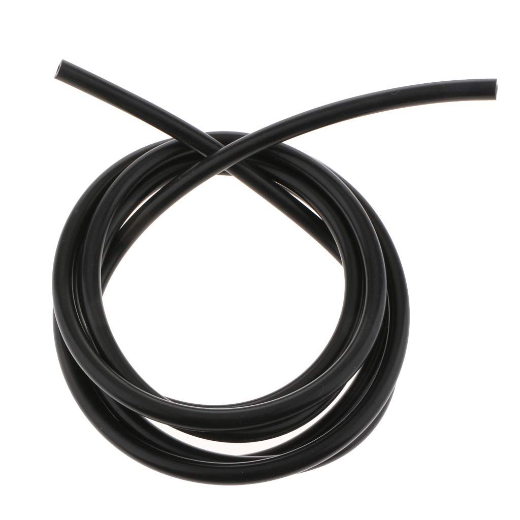 Black 3 meters Baosity 10 Feet Blue Silicone Vacuum Air Hose 4MM 5//32 Inch SILICONE LINE PIPE TUBE