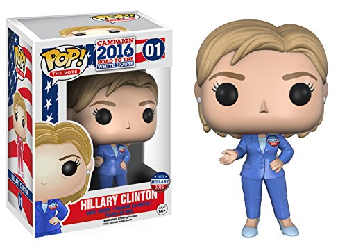 Hillary Clinton POP Figure 3 x 4in