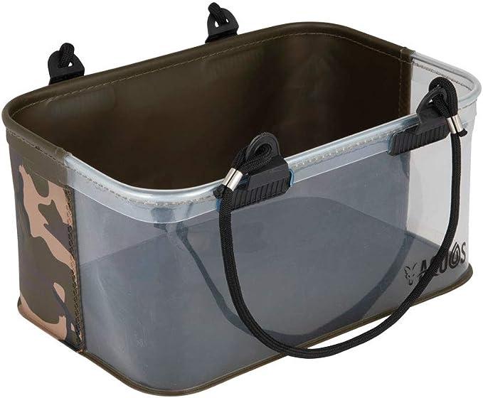 Fox Aquos Camolite Water Bucket 24,5x25cm Eimer zum Angeln Wassereimer zum Karpfenangeln Angeleimer