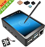 For Raspberry Pi 4 ディスプレイ 3.5 インチ LCD モニターTFTスクリーンタッチスクリーンそしてケース ヒートシンク