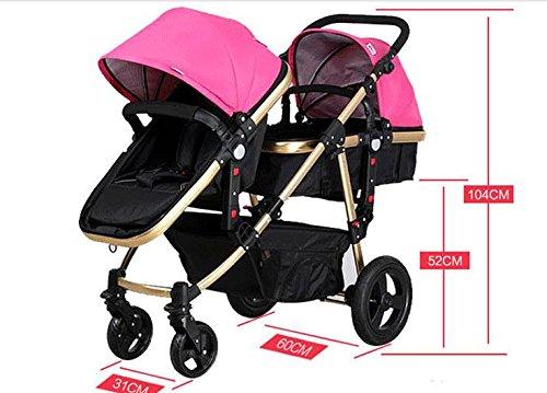 twin baby stroller,double stroller ,landscape baby stroller 3 in 1,strollers for twins,travel system,baby bassinet,twins prams