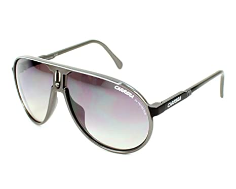 70574dff96 Image Unavailable. Image not available for. Color  Carrera Carrera Champion T  Jo4 Ic Grey   Black Sunglasses