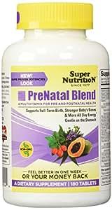 SuperNutrition Prenatal Blend 180 Tab