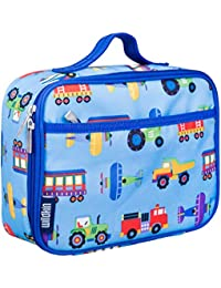 Kids Insulated Lunch Box for Boys and Girls, Perfect Size for Packing Hot or Cold Snacks for School and Travel, Patterns Coordinate with Our Backpacks and Duffel Bags