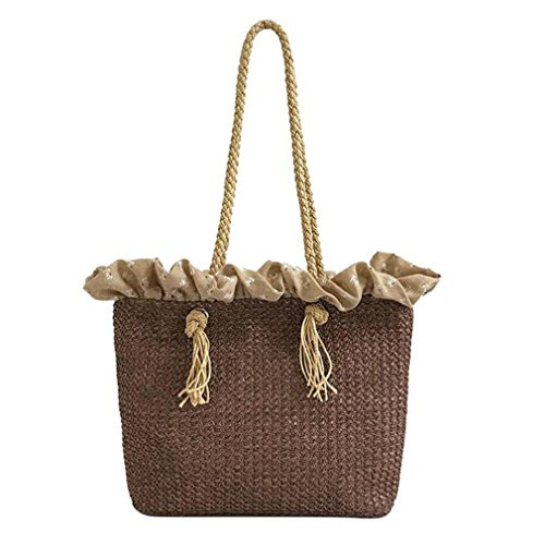 Handbag Straw Big 04 Travel Circle Rattan INS Bag Beach Shoulder Amuele Weave Tote Bohemia Round wq6XAfEt