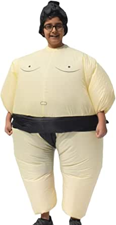 ALEKO Halloween Inflatable Party Costume - Sumo Wrestler