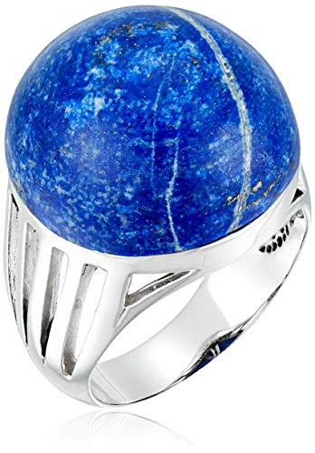 Barse Sterling Silver and Lapis Ring, Size 7