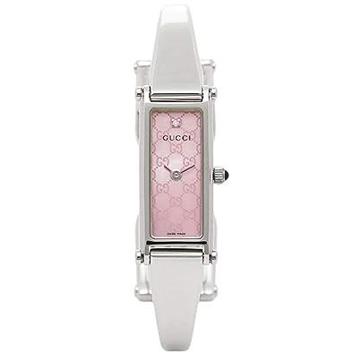 e89e938d9526 [グッチ]時計 GUCCI 1500シリーズ レディース腕時計ウォッチ 選べるカラー シルバー/ピンク YA015562