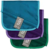 ChicoBag Snack Time rePETe (Recycled PET) Baggies Snack and Sandwich Reusable Bags, Pack of 3
