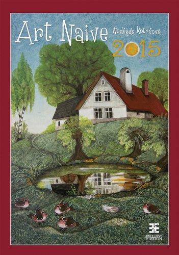 Art Naive Wall Calendar 2015 - Art Calendar - Poster Calendar - Folk Art Calendar By - Art Folk Wall Calendars 2015