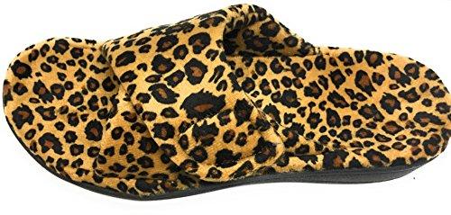Orthaheel Women's Tan Leopard Relax 6 B(M) US