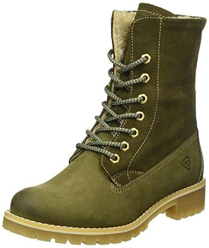 Tamaris Damen 26443 Combat Boots Grün (Olive 722)