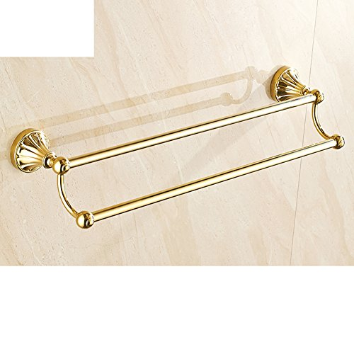 European style Towel rack/Towel Bar/Single towel bar/Double Towel Bar/Antique bathroom Towel rack hardware-F 80%OFF