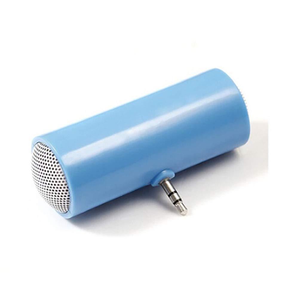LEACK Tragbarer 3, 5 mm Lautsprecher MP3 Player Verstä rker Stereo Mini Lautsprecher Handy Lautsprecher schwarz Schwarz