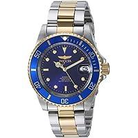 Invicta 8928OB Men's Pro Diver Silver-Tone Automatic Watch (Blue)