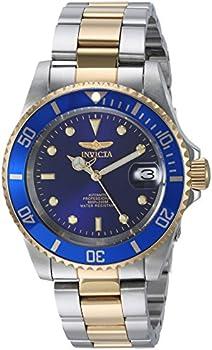 Invicta Men's Pro Diver Silver-Tone Automatic Watch