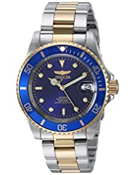 Invicta Men\'s 8928OB Pro Diver Gold Stainless Steel Two-Tone...