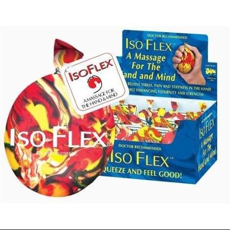 Isoflex Designer Stress Ball Handマッサージャーin Assorted Assorted Colors Ball 6個 Stress B01E6QUTKY, アンテナパーツshop:85ee0555 --- koreandrama.store