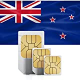 1GB of Mobile Internet data sim card to use in New Zealand for 30 Days Rechargeable