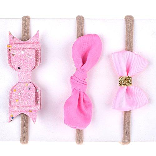 Pink Newborn Headband - 9