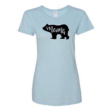 Amazon.com  Mashed Clothing - Inspirational Motivational - Mama Bear Fierce  Protector - Women s Super Soft Jersey Keepsake T-Shirt  Clothing 8fe4f667f