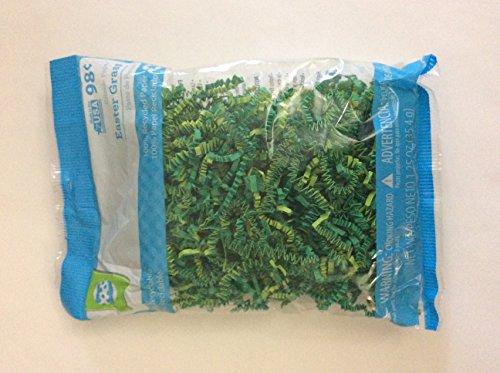 [해외]녹색 주름 종이 부활절 잔디/Green Crinkle Paper Easter Grass