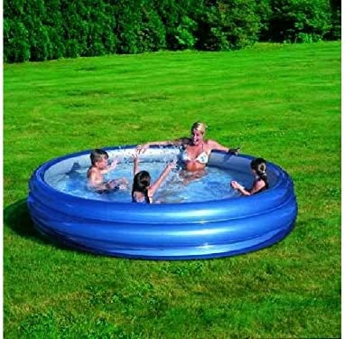 51043 Piscina inflable Bestway 3 anillos 201 x 53 cm reflectante ...