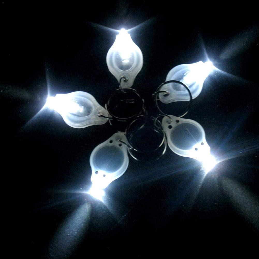 Dynamicoz Mini Lumi/ère De Cl/é Super Petite LED Mini Lampe De Poche Porte-cl/és Petite Lampe De Poche Mini /Éclairage Ext/érieur LED Light