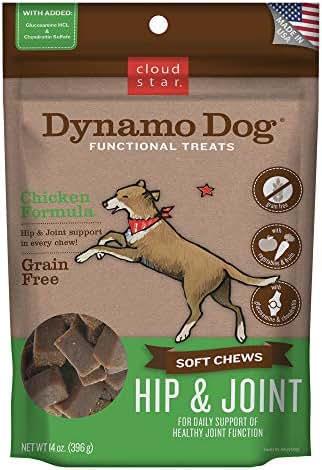 Cloud Star Dynamo Dog Functional Soft Chews: Hip & Joint - Chicken - 14 oz.