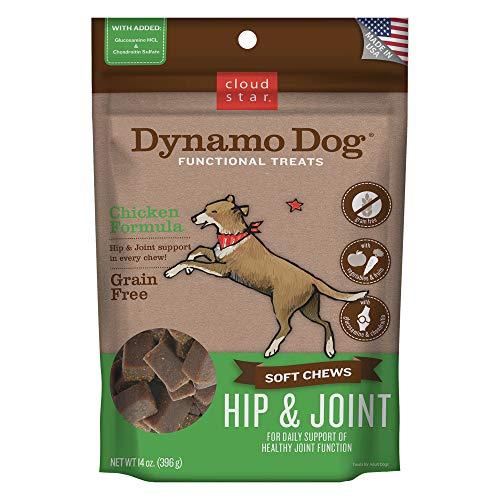 - Cloud Star Dynamo Dog Functional Soft Chews: Hip & Joint - Chicken - 14 oz.