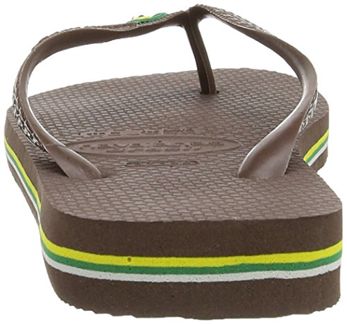 Dark Unisex Marrón Adulto Havaianas para Chanclas Brasil 0727 Brown gwx7gqY6