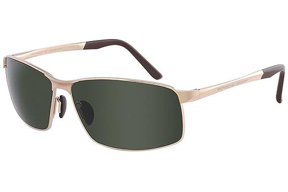 PORSCHE Design Porsche Design Herren Sonnenbrille » P8509«, grau, C - grau/blau
