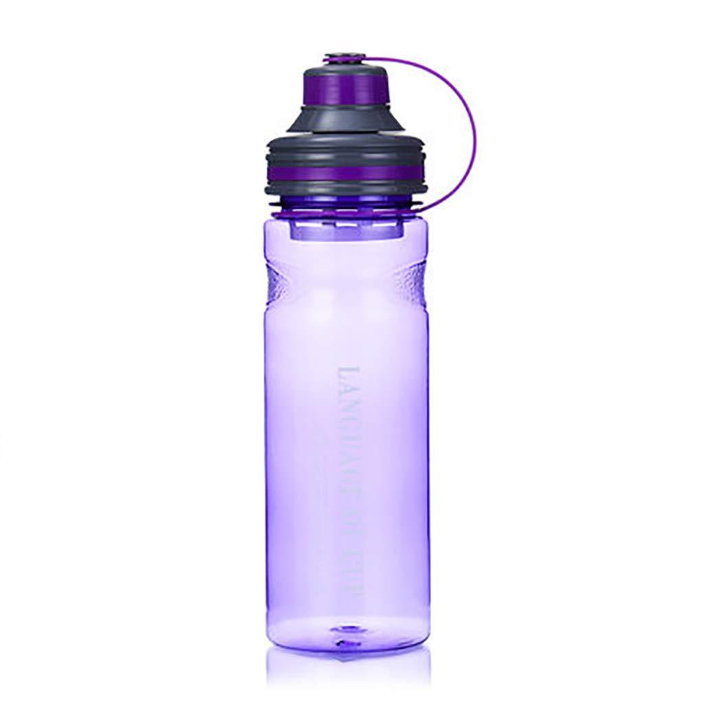 輝い スポーツボトルスポーツフィットネスボトル屋外ポータブルプラスチックカップ大容量スペースカップ800ML (色 B07H9MXH2F : Purple) (色 Purple Purple) B07H9MXH2F, ワールドクラブ 1989:55fa92f4 --- a0267596.xsph.ru