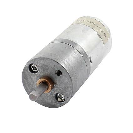 DC 12V 300 RPM 4mm Eje Soldadura 2 pin Con engranaje Reducción Caja De Cambios Motor