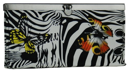 Ladies Flat Opera Wallet 92000-4, Orange - Flat Opera Wallet