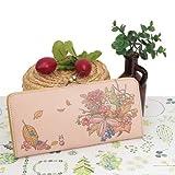 Studio Ghbli My Neighbor Totoro Long Type Wallet Art Leather Series Blooming Season from Japan