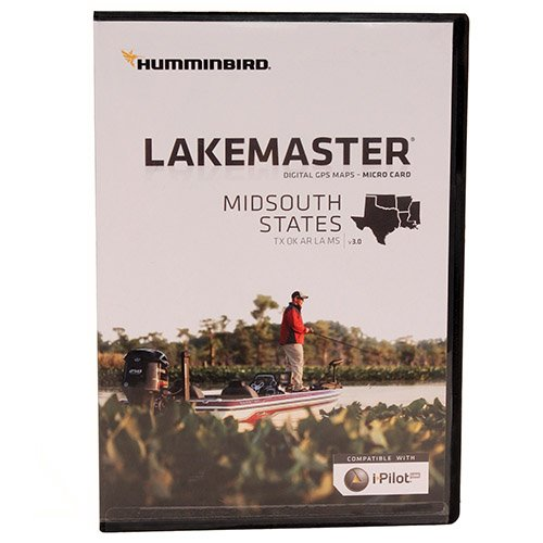 Humminbird Mid South States Map Card by Humminbird