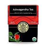 Organic Ashwagandha Root Tea - Kosher, Caffeine-Free, GMO-Free - 18 Bleach-Free Tea Bags