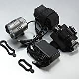 ZWC LT-067 3Mode 4 x Cree XM-L T6 LED Bicycle Bike Headlight Torch Headlamp(5200LM. 1X6400.Gray)