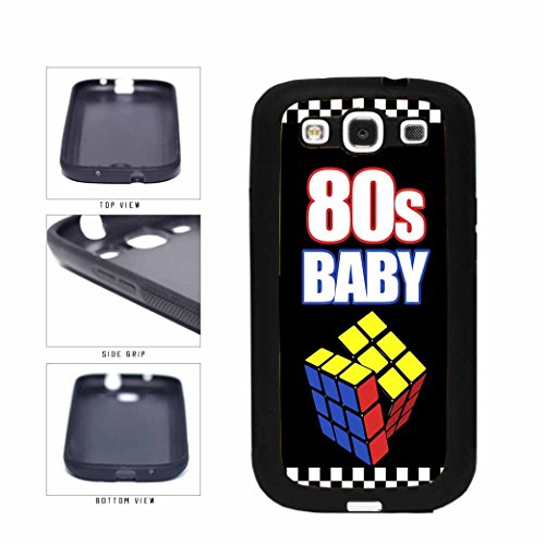 80's Baby TPU RUBBER SILICONE Phone Case Back Cover Samsung Galaxy S3 I9300 includes BleuReign(TM) Cloth and Warranty Label
