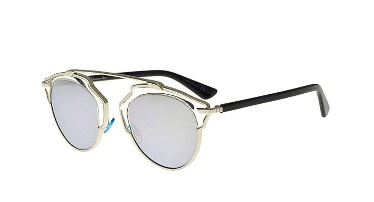 1cc2dc02606 New Christian Dior SO REAL APP/DC palladium black/grey silver mirror  Sunglasses: Amazon.ca: Clothing & Accessories