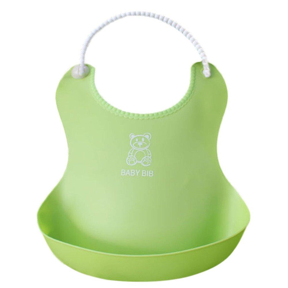 LIKESIDE Baby Detachable Kids Boys Girls Waterproof Feeding Apron Saliva Towel Bib Smock