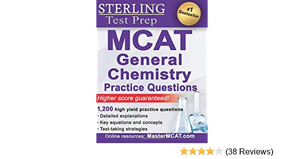 Amazon com: Sterling MCAT General Chemistry Practice Questions: High