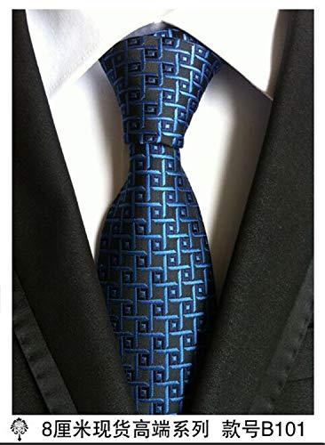 Thadensama Hot 100% Silk Plaid Ties For Men Shirt Wedding Cravate Pour Homme Necktie Party Gravata Business Tie Formal Lot 101